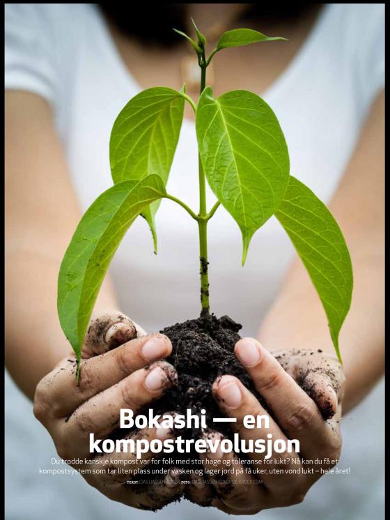 Artikkel om Bokashi i USBL Nytt av Ida Eliassen-Coker